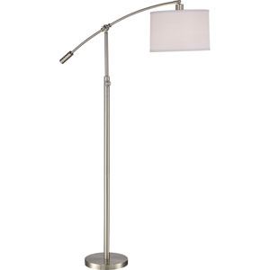 Clift Brushed Nickel One-Light Floor Lamp