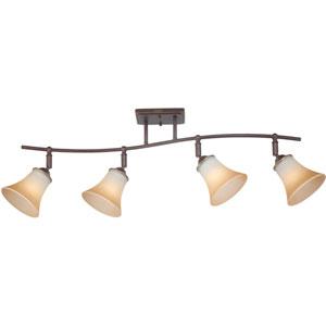 Duchess Palladian Bronze Four-Light Ceiling Track Light