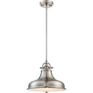 Emery Brushed Nickel One-Light Pendant