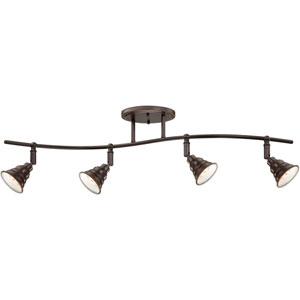 East vale Palladian Bronze 10.5-Inch Four-Light Ceiling Track Light