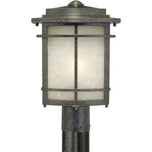 Galen Imperial Bronze One-Light Outdoor Post Light