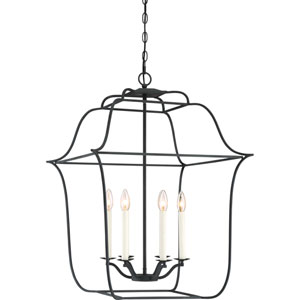 Gallery Royal Ebony 22-Inch Six-Light Pendant