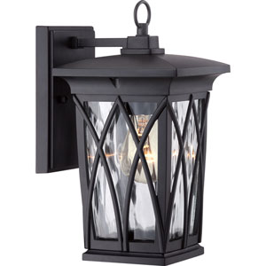Grover Mystic Black Six-Inch Outdoor Wall Sconce