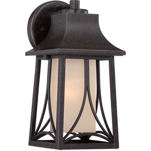 Hunter Imperial Bronze Six-Inch Outdoor Wall Sconce
