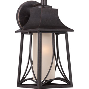 Hunter Imperial Bronze Seven-Inch Outdoor Wall Sconce
