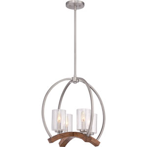 Kayden Brushed Nickel Four-Light Pendant