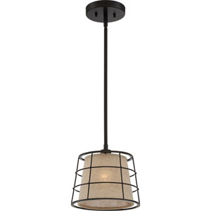 Landings Mottled Cocoa One-Light Mini Pendant