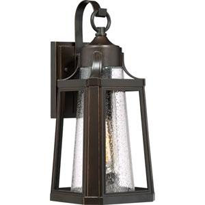 Lighthouse Palladian Bronze 7-Inch One-Light Outdoor Wall Lantern