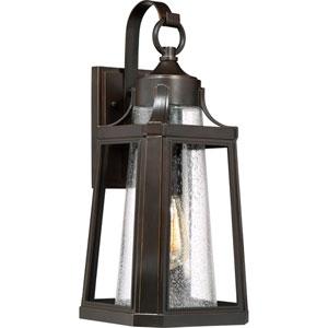 Lighthouse Palladian Bronze 9-Inch One-Light Outdoor Wall Lantern