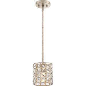 Luxury Vintage Gold 7-Inch One-Light Mini Pendant