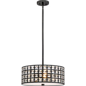 Luxury Imperial Bronze 17-Inch Four-Light Pendant