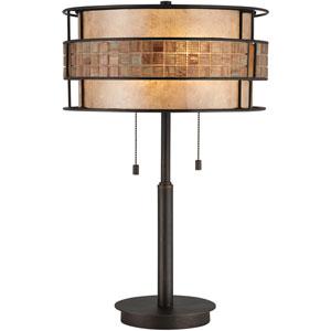 Laguna Copper Two-Light Table Lamp