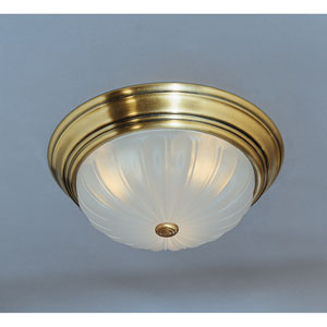 Melon Flush Mount Ceiling Light