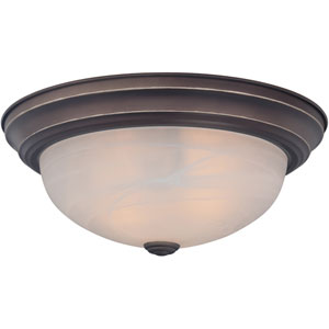 Manor Bronze Flush Mount