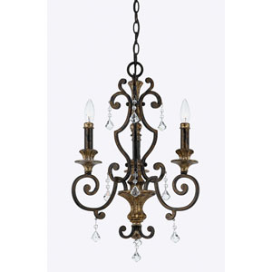 Marquette Three-Light Chandelier
