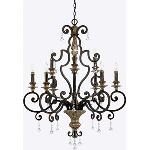 Marquette Nine-Light Chandelier