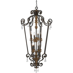 Marquette Heirloom Eight-Light Cage Chandelier