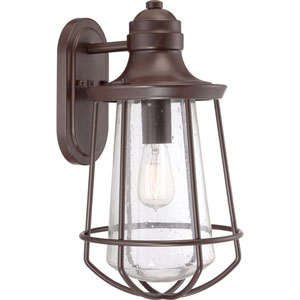 Marine Western Bronze One Light Outdoor Wall Fixture
