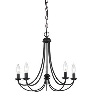 Mirren Imperial Bronze Five-Light Chandelier