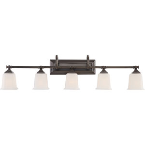 Nicholas Harbor Bronze Five-Light Bath Light