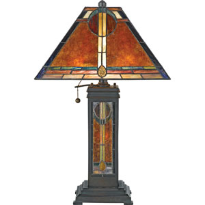 Museum of New Mexico Valiant Bronze San Gabriel Table Lamp
