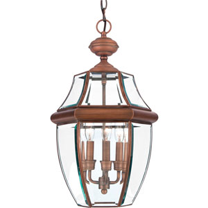 Newbury Copper Medium Outdoor Pendant