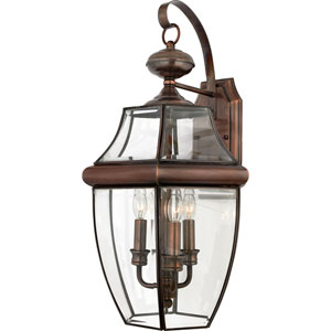 Newbury Copper Extra-Large Outdoor Wall Mount