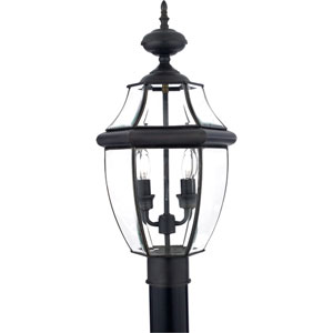 Newbury Medici Bronze Post Lantern