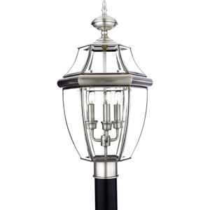 Newbury Outdoor Post-Mounted Lantern