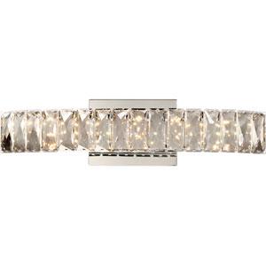 Platinum Collection Gala 19-Inch Polished Chrome LED Bath Light