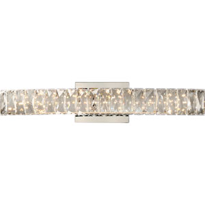 Platinum Collection Gala 24-Inch Polished Chrome LED Bath Light