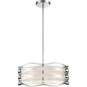 Platinum Collection Mystic Polished Chrome 20-Inch Four-Light Pendant