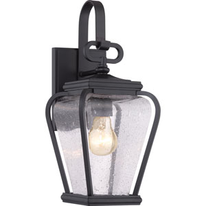 Province Mystic Black Six-Inch Outdoor Wall Sconce