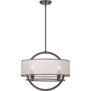 Portland Western Bronze Four Light Pendant