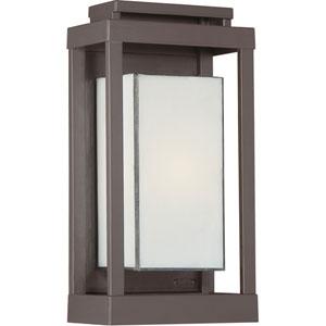 Powell Western Bronze One-Light Outdoor Wall Light