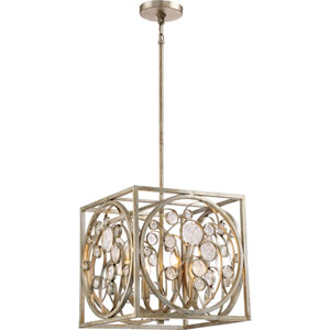 Artistry Vintage Gold 14-Inch Four-Light Pendant