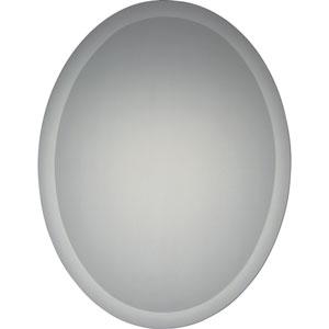 Reflections Frameless Twenty-Two-Inch Oval Mirror