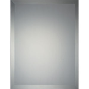 Reflections Frameless Twenty-Two-Inch Rectangular Mirror