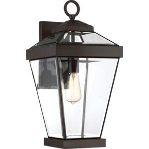 Ravine Western Bronze 10-Inch One-Light Outdoor Wall Lantern