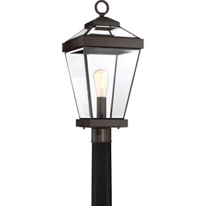 Ravine Western Bronze 10-Inch One-Light Outdoor Post Lantern