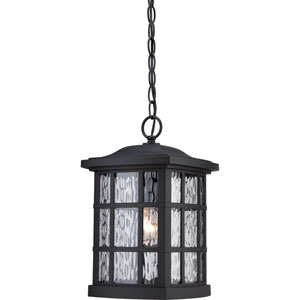 Stonington Mystic Black 15-Inch Height One-Light Outdoor Hanging