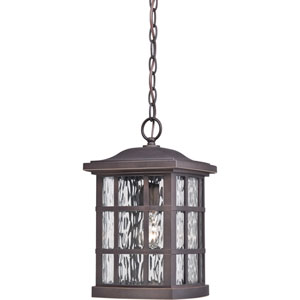 Stonington Palladian Bronze One Light Outdoor Hanging