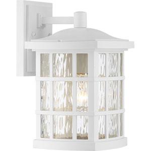 Stonington Fresco 8-Inch One-Light Outdoor Wall Lantern