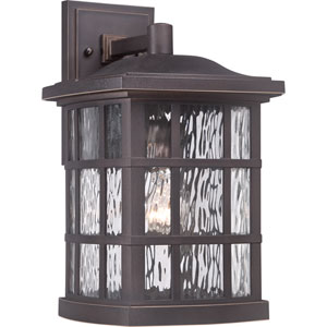 Stonington Palladian Bronze One Light Outdoor Wall Fixture