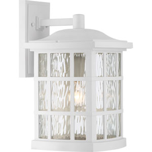 Stonington Fresco 9.5-Inch One-Light Outdoor Wall Lantern