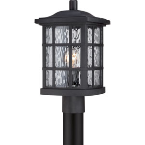 Stonington Mystic Black 16.5-Inch Height One-Light Outdoor Post Mounted