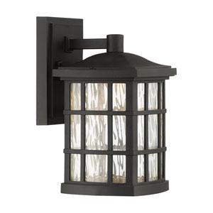 Stonington Mystic Black 6.5-Inch Outdoor LED Wall Lantern