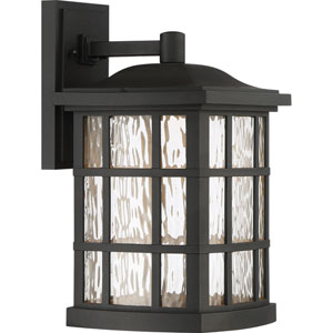 Stonington Mystic Black 9.5-Inch Outdoor LED Wall Lantern