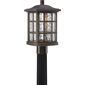 Stonington Palladian Bronze Outdoor LED Post Lantern
