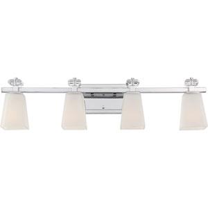 Supreme Polished Chrome Four-Light Vanity